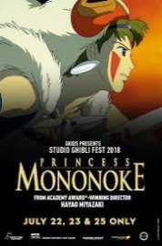 Princess Mononoke Dubbed 2018